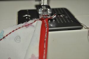 sew across bunting