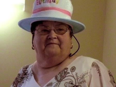 Jenny in a hat